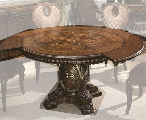 Aico Round Dining Table Sovereign Ai 57001tb 51 Aico Dining Table