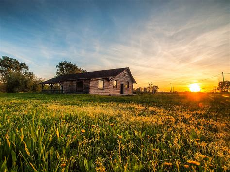House On The Prairie by House On The Prairie Photograph By Davorin Mance