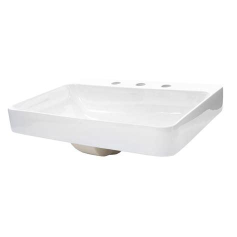 kohler vox vessel kohler vox above counter vitreous china bathroom sink in