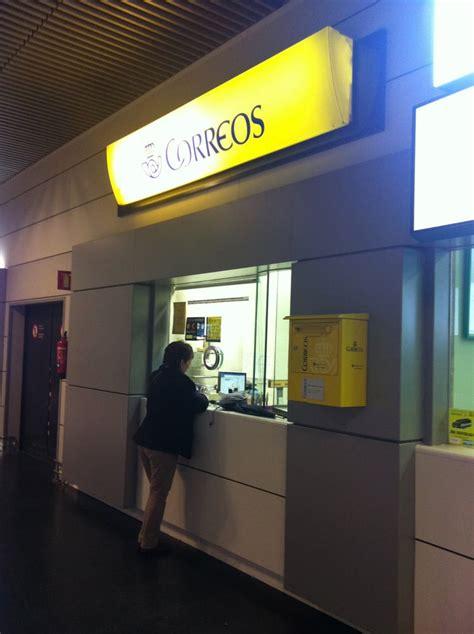 oficinas correos madrid oficina de correos posthuse aeropuerto barajas