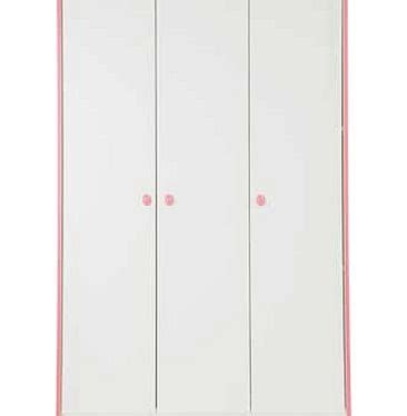 Capella Pink N Grey dr wardrobes