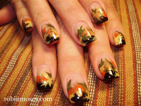 Autumn Leaves Nail