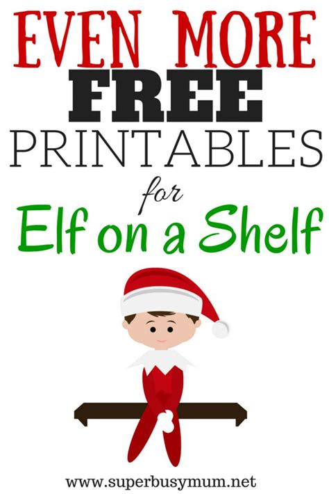 free printable goodbye elf more free printables for elf on a shelf elves free
