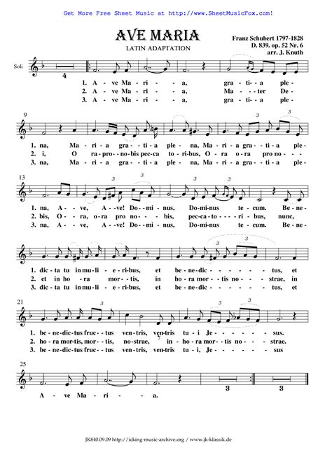free printable sheet music ave maria ave maria sheet music free download