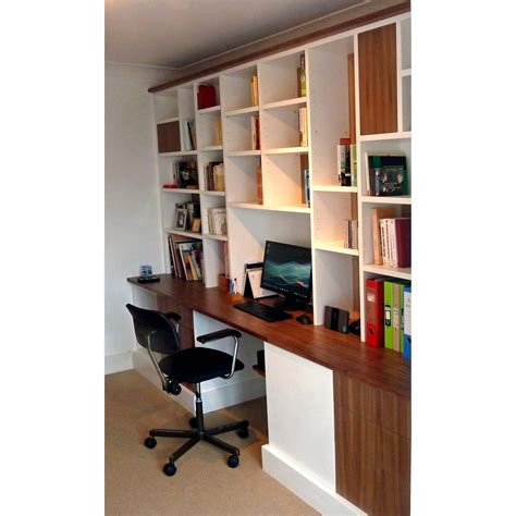 home office desk and storage solutions bespoke fitted home office furniture shelving solutions