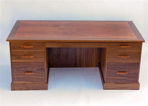 Mesquite Desk by Made Mesquite Executive Desk By Lone Artisans