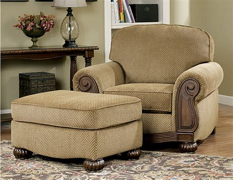 chair for living room lynnwood traditional living room furniture set by ashley