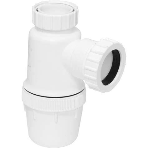 bottle trp bottle trap with bottle trap 76mm x seal x 40mm toolstation
