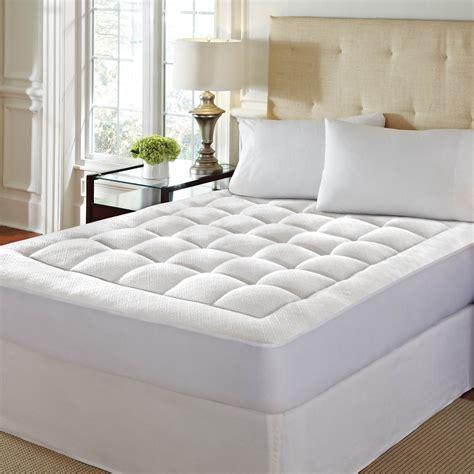 home design classic mattress pad 100 home design memory foam mattress pad amazon com
