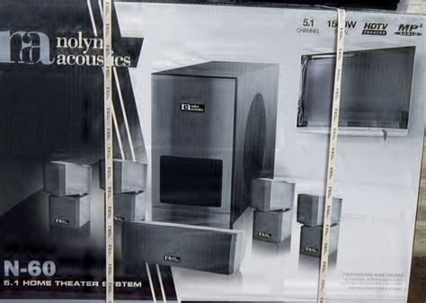 nolyn acoustics    home theater system ebay
