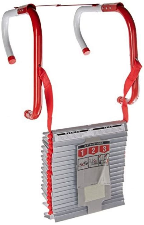 escape ladder kidde three story escape ladder with anti slip rungs 468094 25 foot new ebay
