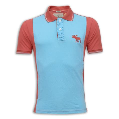 Polo Shirt Abercrombie abercrombie fitch polo shirt mh29p aqua polo shirt s zone