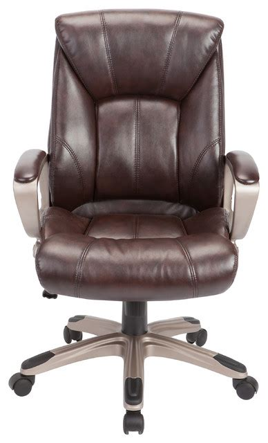 houzz office chairs ac pacific corporation adjustable brown swivel office