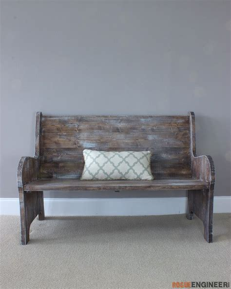 25 best ideas about church pew bench on pinterest