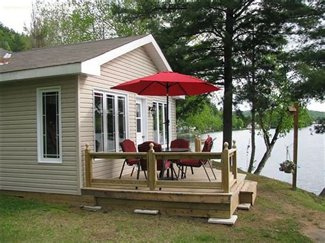 Green Lake Cottage Rentals by Cottage Rental Qu 233 Bec Outaouais Val Des Bois The Green
