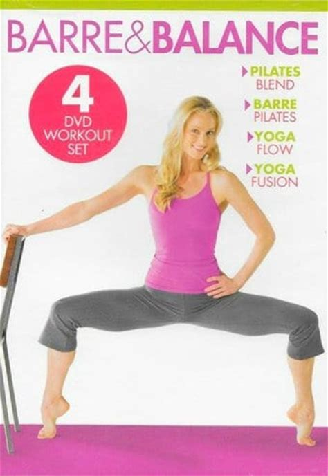 barre balance workout set 4 dvd 2013 gaiam