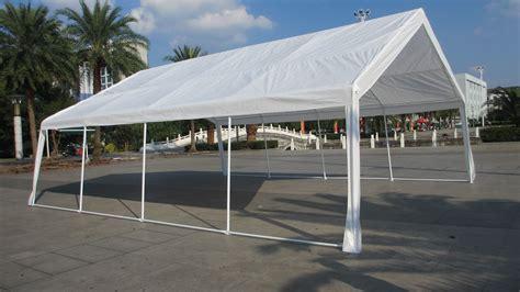 Cer Awnings Ebay by Mcombo White 20x26 Heavy Duty Carport Tent Canopy