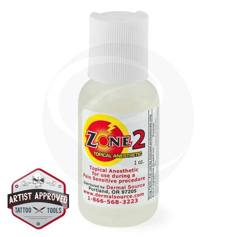Tattoo Numbing Cream Ratings | lidocaine zone 2 tattoo numbing topical anesthetic cream