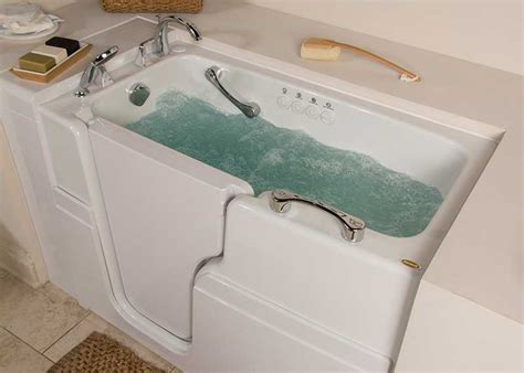 bathtubs for seniors walk in designed for seniors 174 walk in tub models hydrotherapy