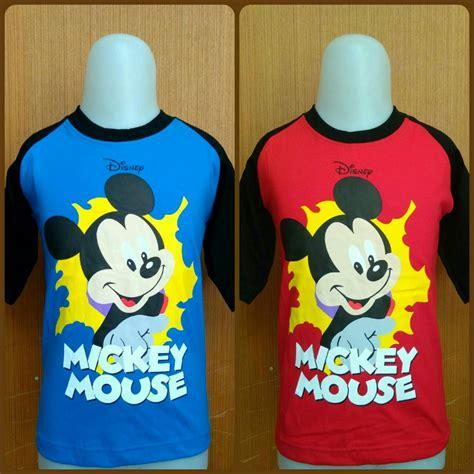 kaos anak karakter kiddos mickey mouse grosir baju anak