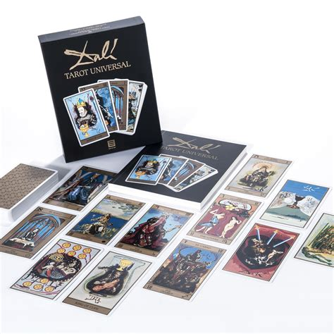 card set mca chicago store dali tarot card set