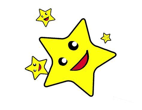 gambar mewarnai bintang  anak paud  tk