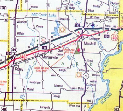 Susannah Clarke Ill To Tour by Clark County Map Illinois Illinois Hotels Motels