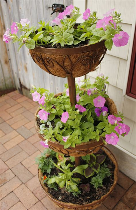 Tier Planter by Mobile Tomatos And Three Tier Planter