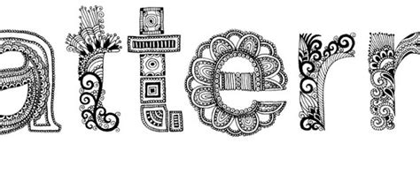 pattern of the words mariya paskovsky s intricate patterns jen vaughn artist