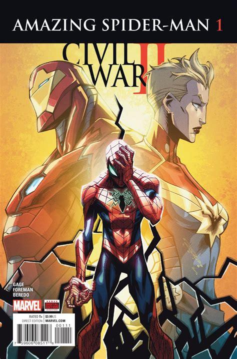 Gamis Gwen Salt civil war ii amazing spider 1 comicsthegathering