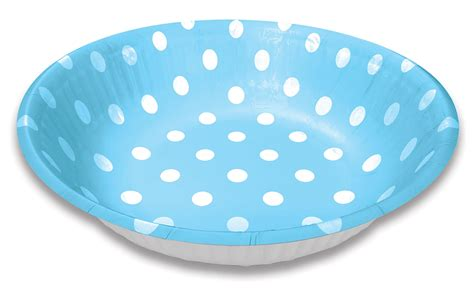 Paper Bowls - lolliz 6 quot paper snack bowls blue polka dots supplies