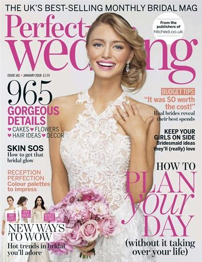 Perfect Wedding Magazine   January 2018 Subscriptions