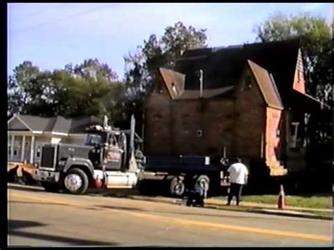 ducky johnson house movers ducky johnson house movers city hall in greenwood youtube