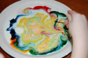 milk food coloring living and loving it explorers milk magic