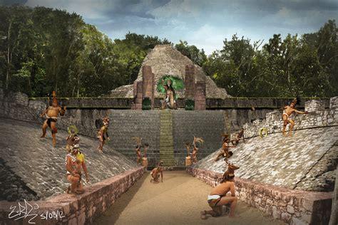 imagenes de los mayas jugando pelota juego de pelota maya en coba by zurdoo on deviantart