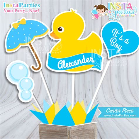 duck baby shower rubber ducky baby shower theme style by modernstork