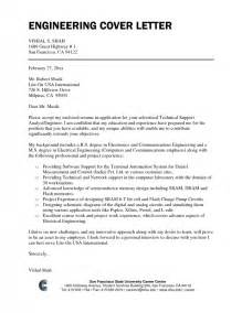 cover letter aerospace engineer nasa aerospace engineer cover letter