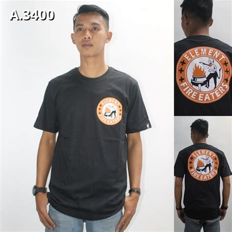 Tshirt Kaos Element kaos element a 3400 ajcloth