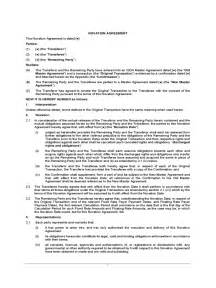 Novation Agreement Letter Novation Agreement Template 6 Free Templates In Pdf Word Excel