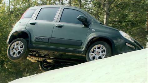 Fiat Panda Puts Osama Out Of Work by 2013 Fiat Panda 4x4 Offroad Testing Hd