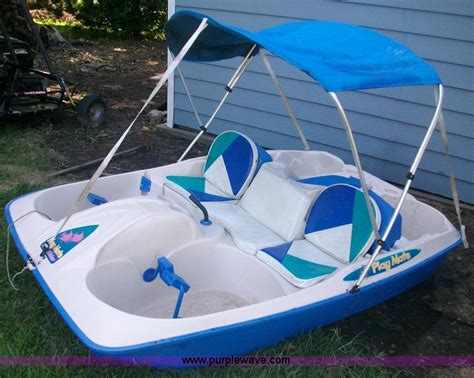 paddle boats for sale in nd play mate sun slider paddle boat item 1022 sold july