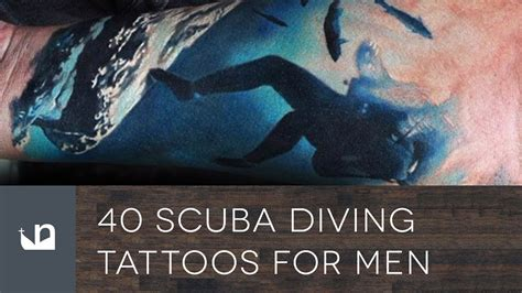 40 scuba diving tattoos for men youtube
