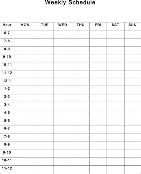 timetable templates download free premium templates
