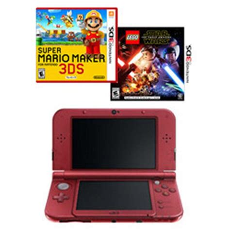 nintendo 3ds console deals new nintendo 3ds xl handheld console mario maker