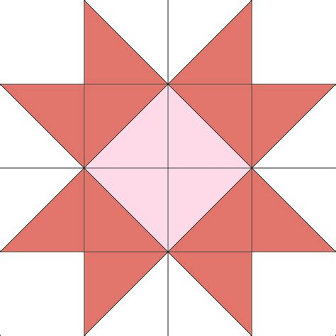 Quilt Block of the Month:The Ribbon Star Quilt Block