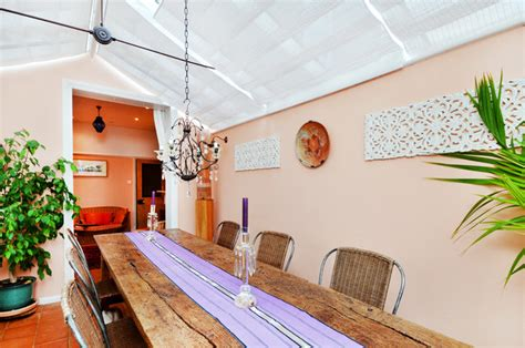 victorian terrace eclectic dining room london