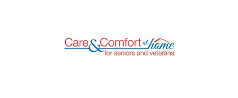 care and comfort care and comfort at home logo lacroix creative