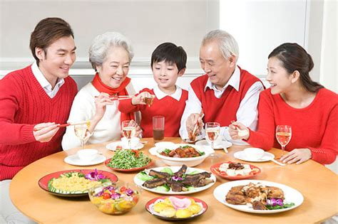 new year traditional family dinner traditional festival food learn hujiang