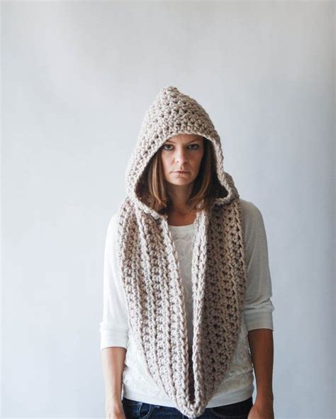 crochet pattern hooded infinity scarf 17 best images about crochet hooded scarves on pinterest