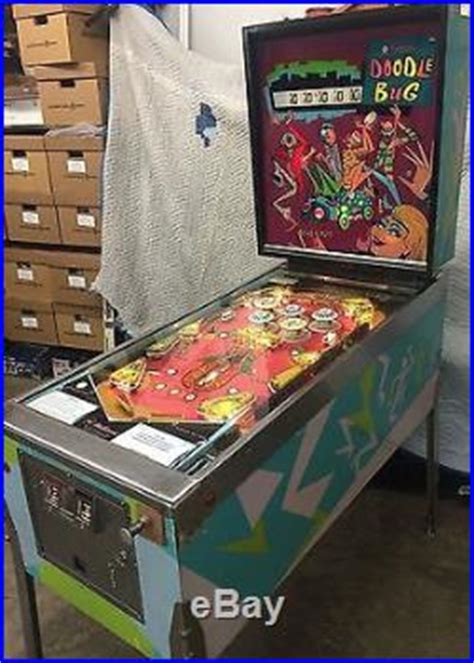 doodlebug pinball machine for sale pinball machines 187 archive 187 williams doodle bug 1
